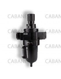 filtro de agua y regulador de aire